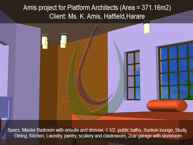 Amis project for Platform Architects (Area = 371.16m2)
